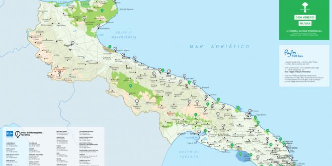 Puglia Cartina Turistica.Uffici Di Informazione Turistica